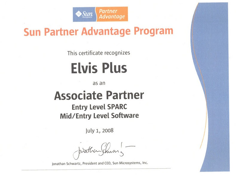Sun Partner Advantage Program. Associate Partner