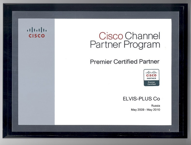 Cisco Channel Partner Program. Premier Certified Partner